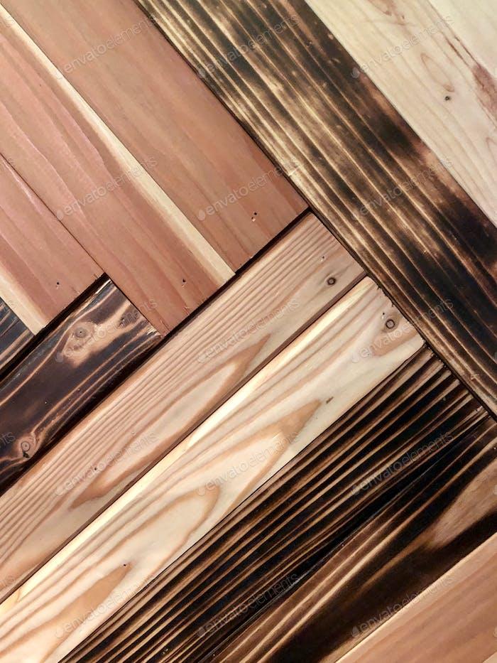 Wood planks background pattern