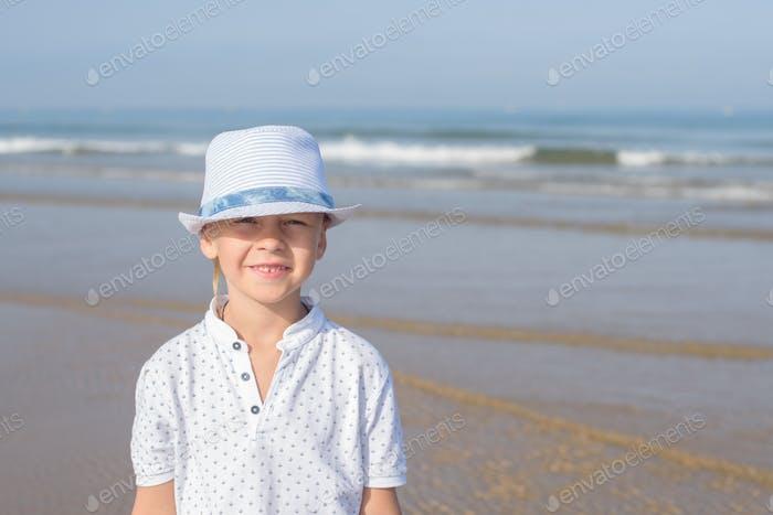 boy preschooler walking on the ocean 💫 nominated