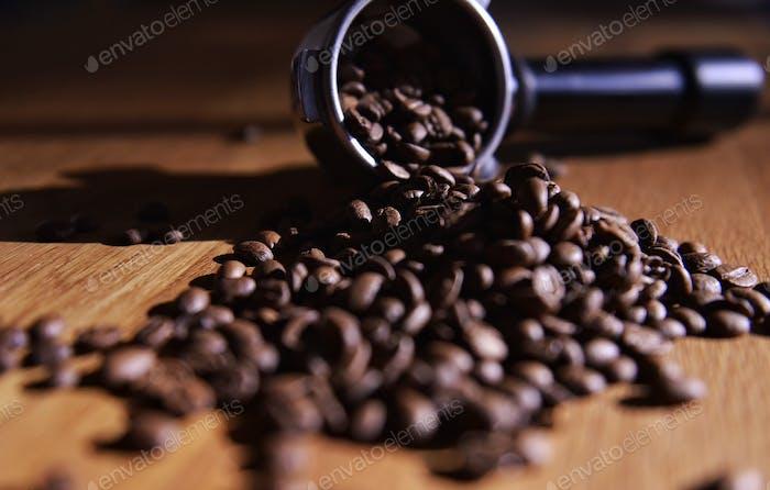 Coffee beans...