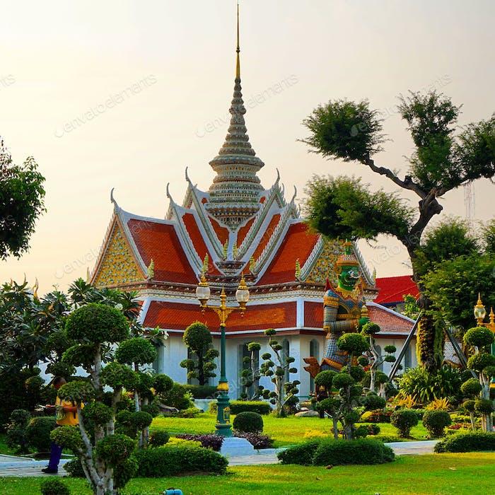 Temple at Wat Arun, Bangkok
