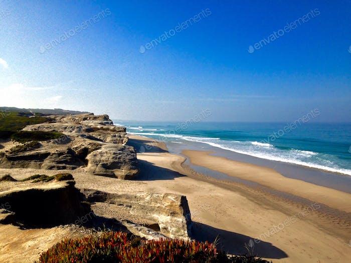 awsome portuguese beach