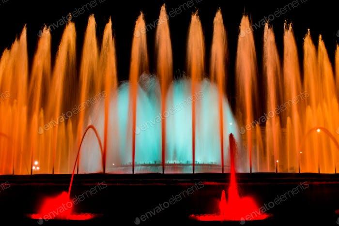 The Magic Fountain in Montjuic