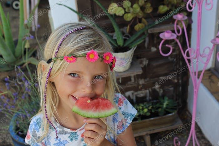 Watermelon lolly