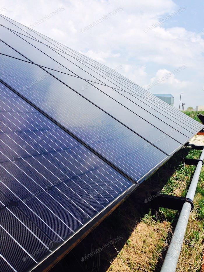 The Solar Strand at the University at Buffalo