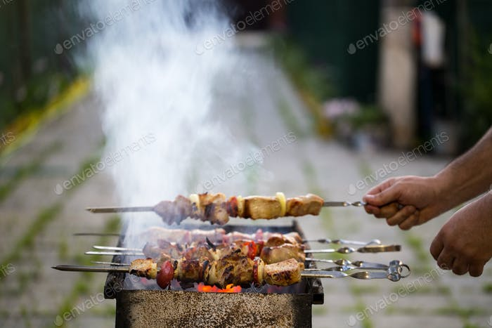 Barbecue cooking