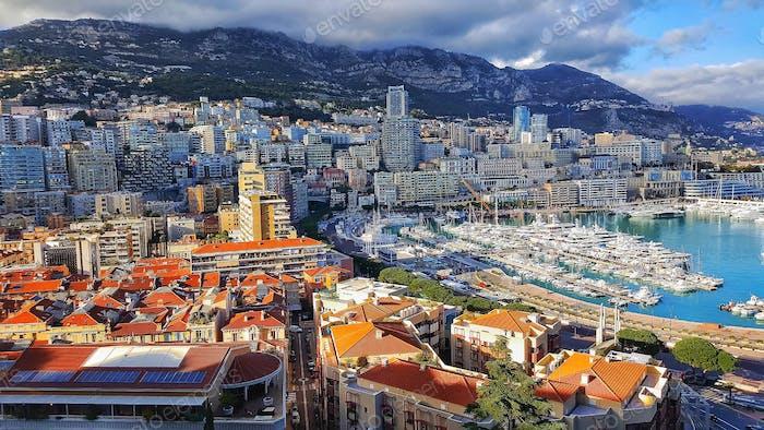 Monaco sunny day