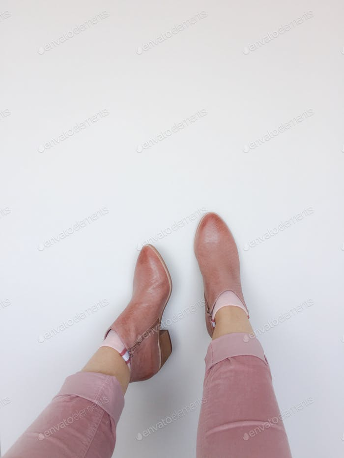 Diese Stiefel wurden zum Laufen gemacht...