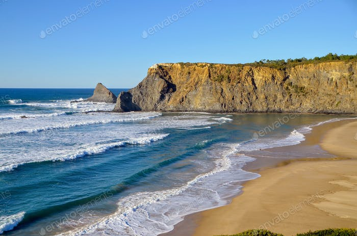 Odeceixe, extremely beautiful Portuguese beach.