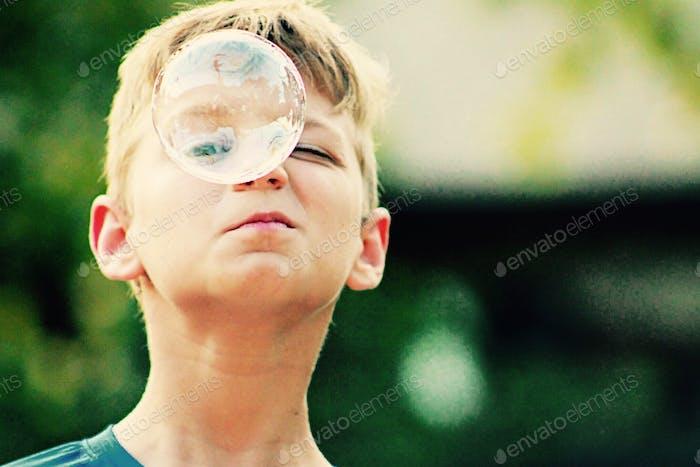 One bubble one eye