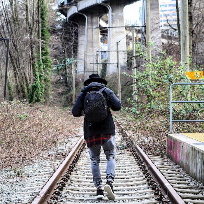 Walk that straight path