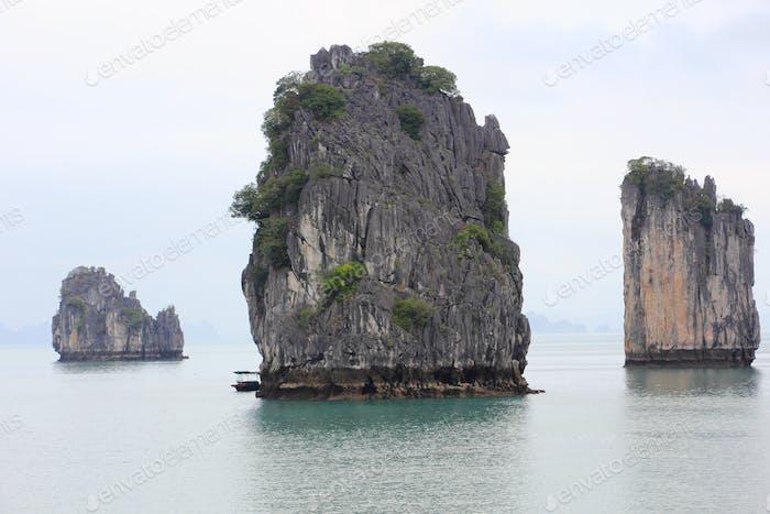 Unesco Halong Bay Vietnam Asien