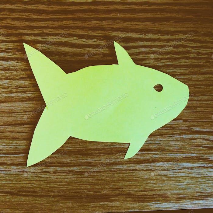 Chubby Paper Fish