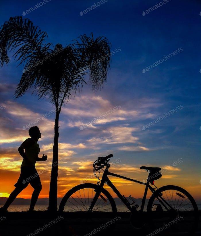 Run or cycle?