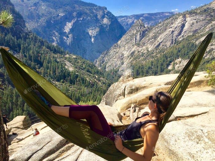 Hamaca en Yosemite