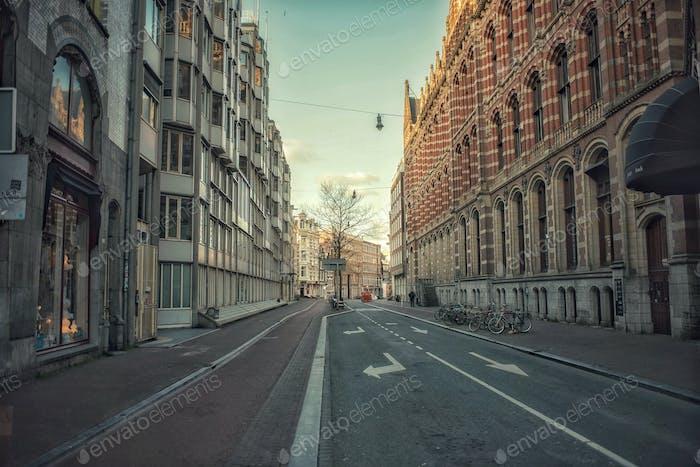 Calle vacía