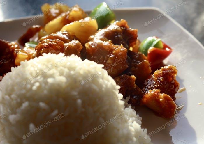 Chinese food  hunan chicken 🍗