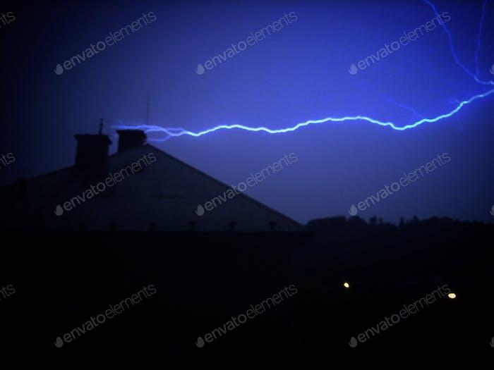 La fuerza de las tormentas
