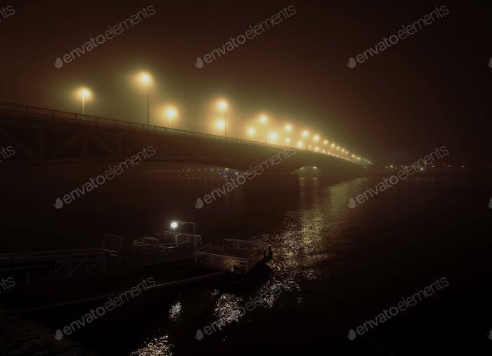 •bridge in the fog•