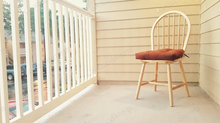 Chair in a corner