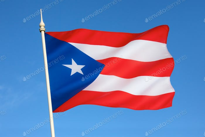 National flag of Puerto Rico