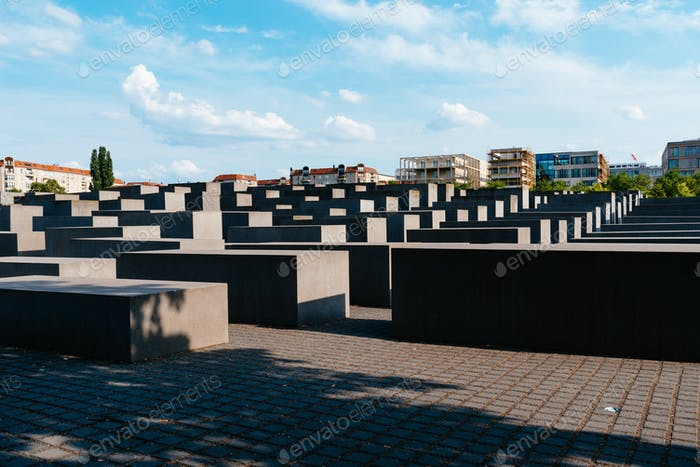 The Memorial to the Murdered Jews of Europe, Berlin, Germany.