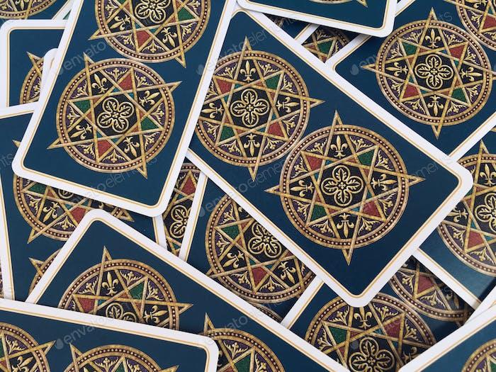 Tarot cards background