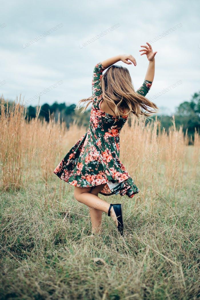 She belongs among the wildflowers.