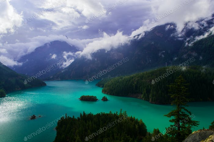 Diablo Lake, North Cascades, Washington