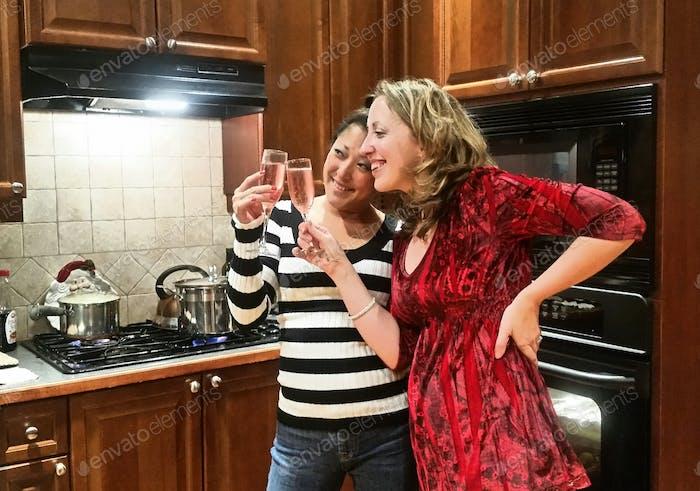 Millennials are always enjoying wine!