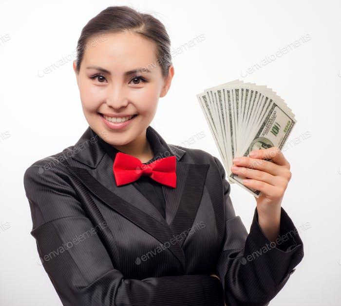 Bank worker