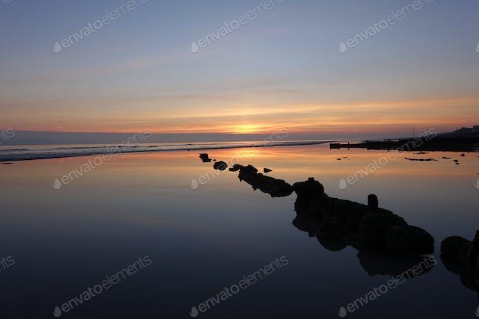 Bexhill coastal sunset