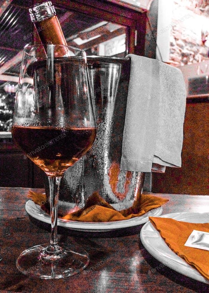 Alghero rosato ( Cannonau e Sangiovese ) - Excellent for the saturday night dinner!