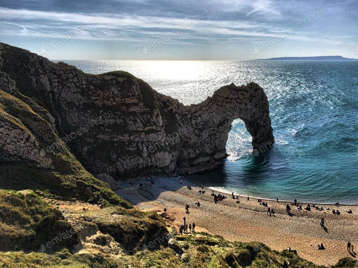 Durdle Door in Dorset Vereinigtes Königreich