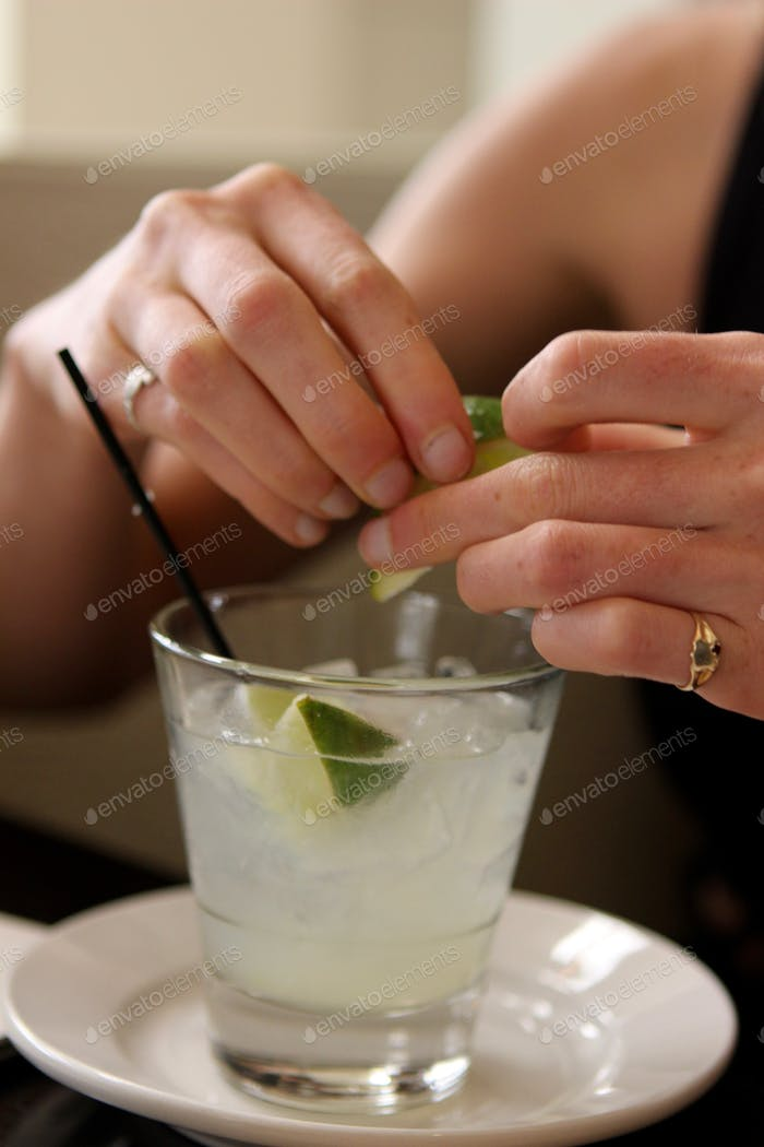 Squeezing Lime into Gimlet