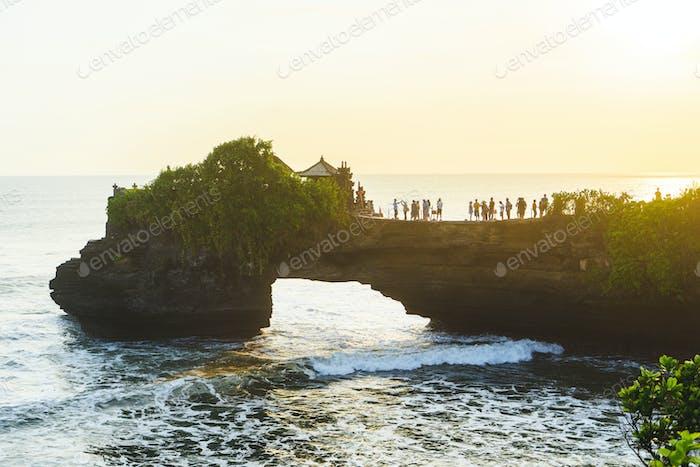 Tanah Lot in Bali, Indonesia