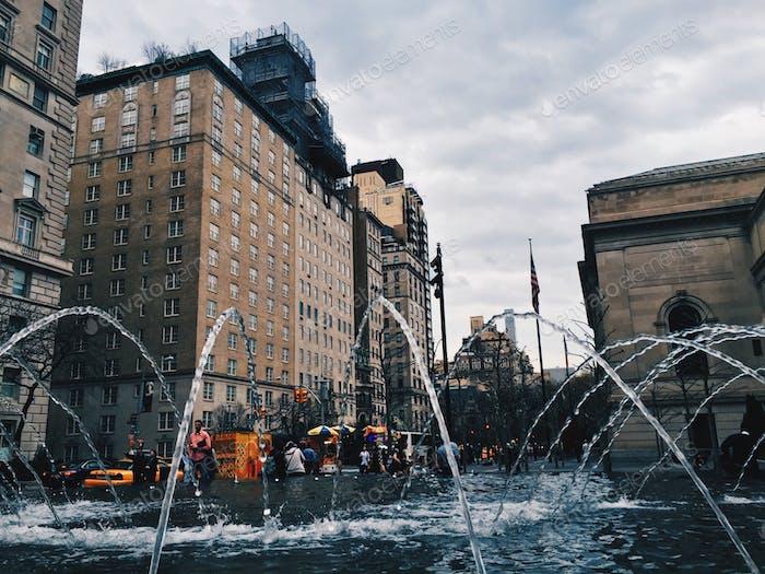 Taken in front of the MET in New York City