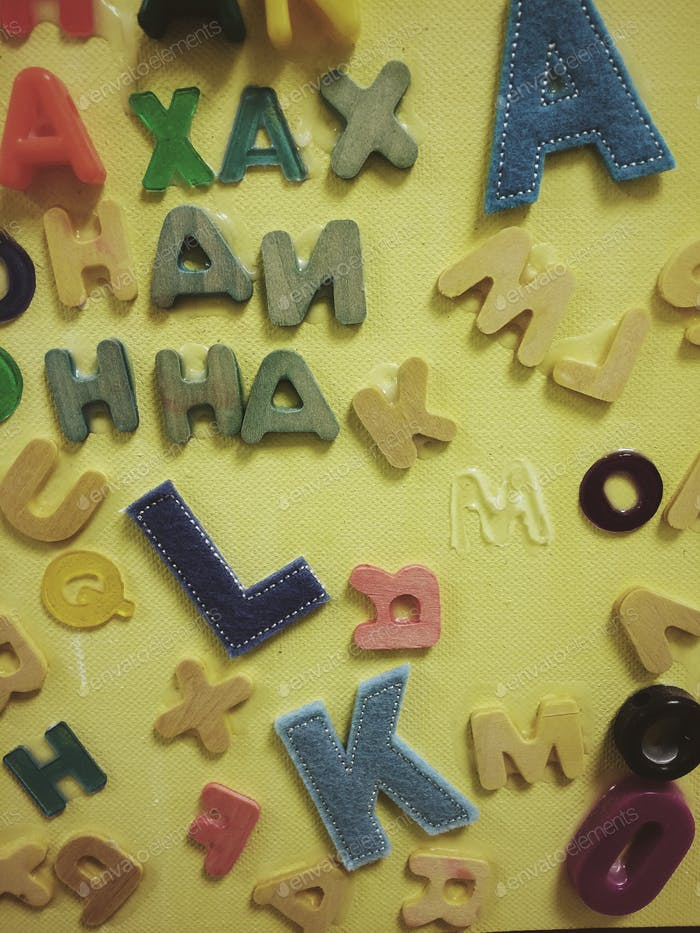 Alphabets and learning