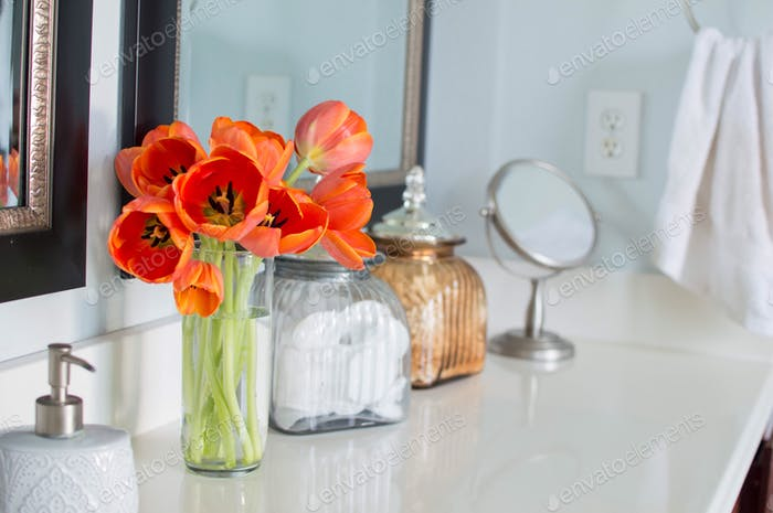 Badezimmer-Zähler