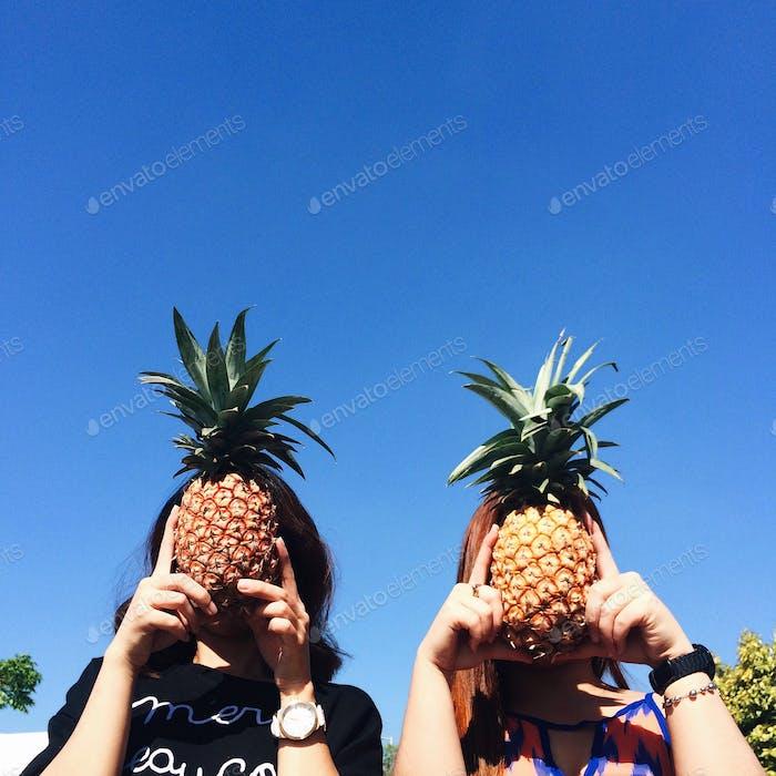 Pineapple heads