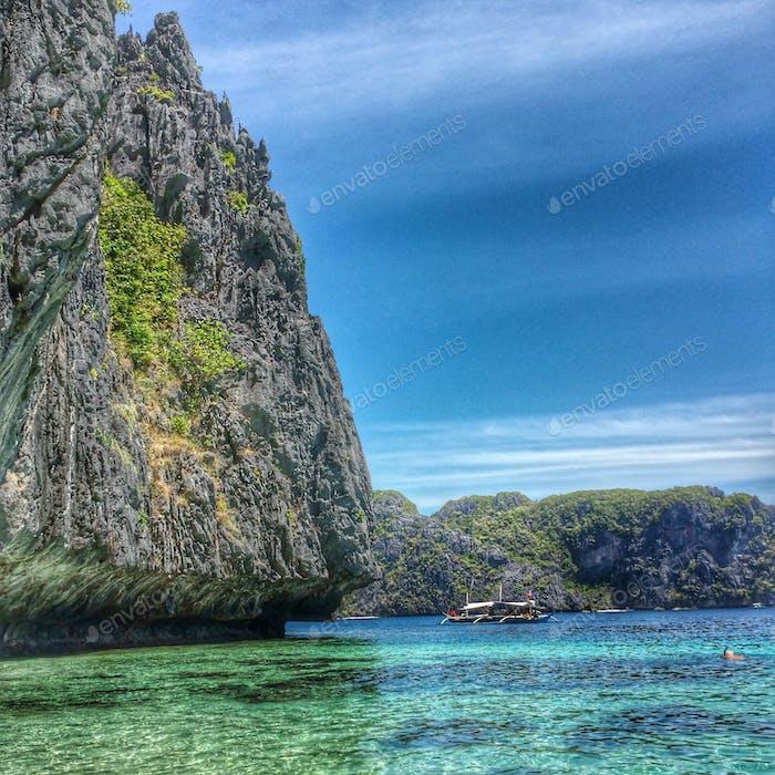 Talisay Island At El Nido Palawan, Philippines