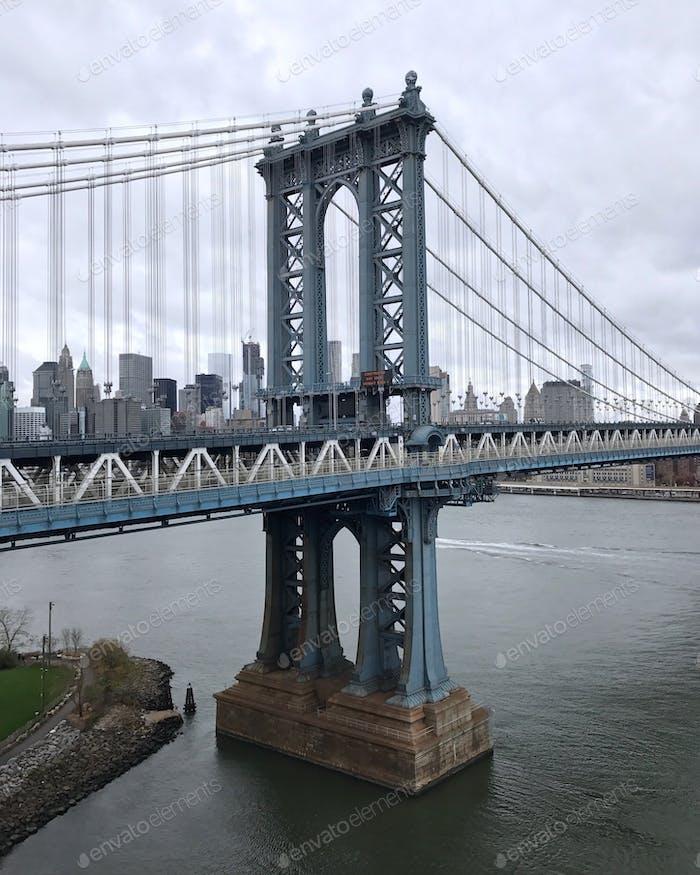 Puente Manhattan. NUEVA YORK.