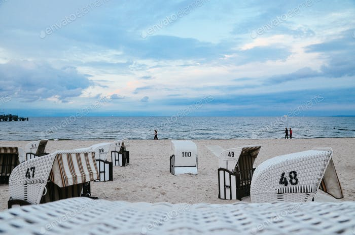 Classic view of Baltic Sea