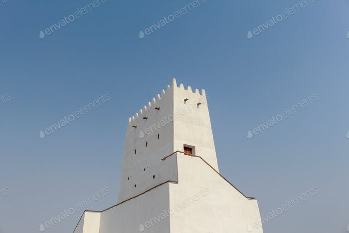 Barzan towers built in 1910, Umm salal Mohammed fort towers, Qatar