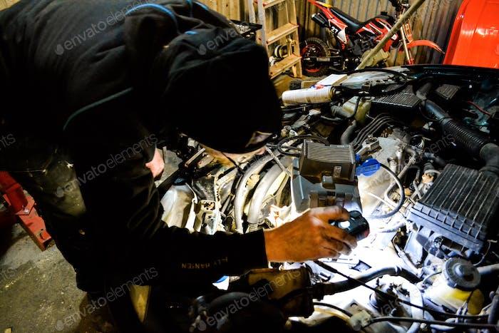 Reparatur von Pkw-Fahrten