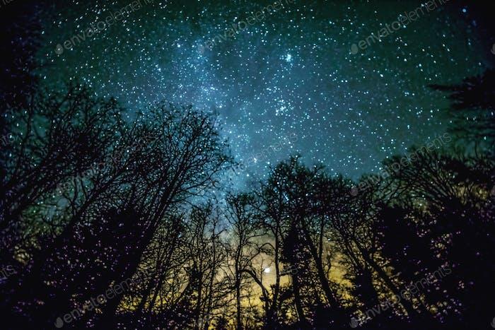 November Nachthimmel