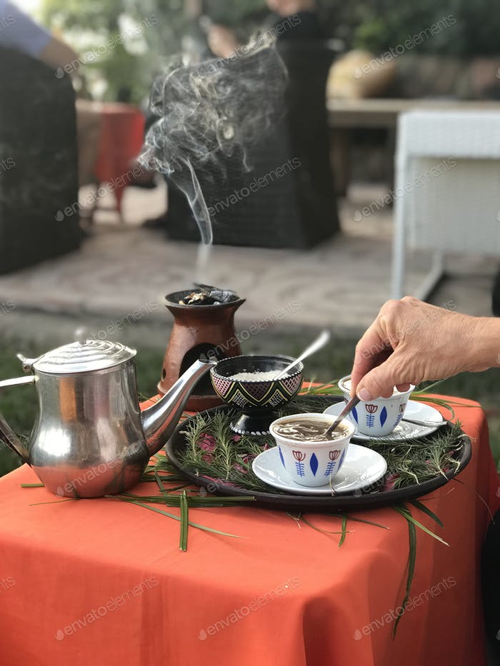 Ethiopian coffee and incense *Nominated!*