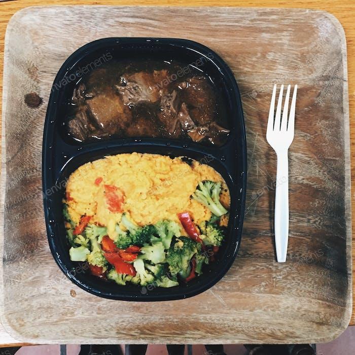 College meals.