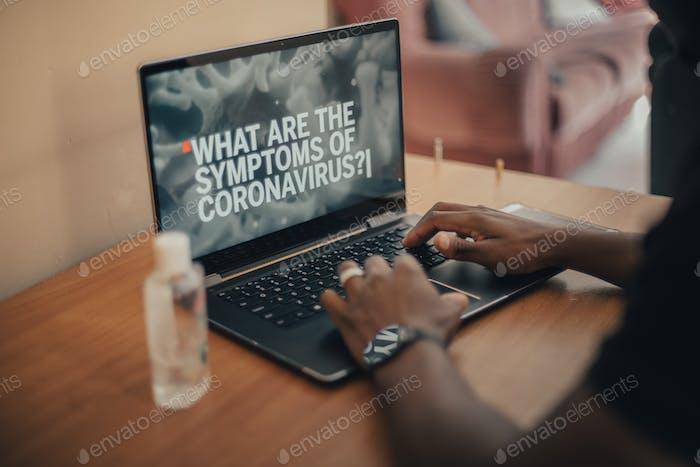 What are the symptoms of coronavirus