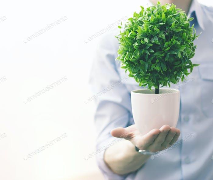Save the green world.