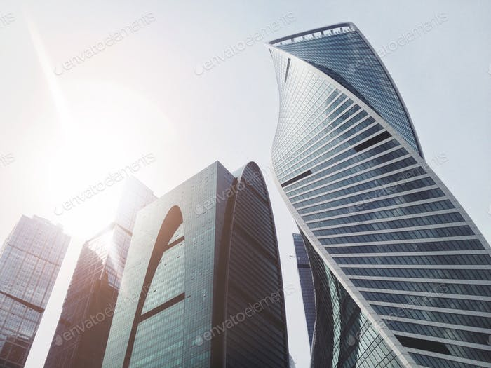 Urban architecture. Skyscapers